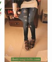 Quần Jeans - Leggin