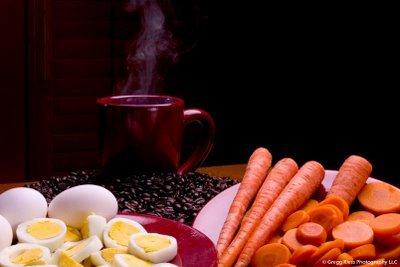 CÀ RỐT, TRỨNG HAY CAFE